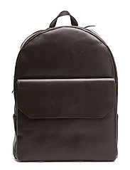 NEW COURIER BACKPACK - BROWN