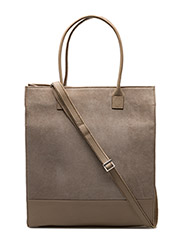 NEW TOTE BAG SUEDE - SAND