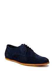 Testa New derby shoe - Suede - Navy
