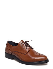 BORDER DANDY BROGUE SHOE - TAN