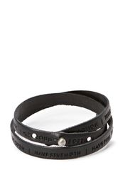 Philosophy Bracelet - Black