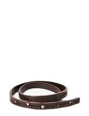 Philosophy Bracelet - DARK BROWN