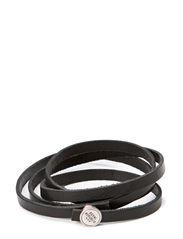 Spiral Bracelet - Black