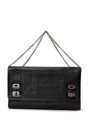 Victoria Braided Clutch - Black