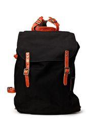 Legioner city canvas backpack - Black