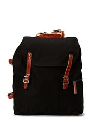 Legioner Mine canvas backpack - Black