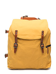 Legioner Mine canvas backpack - YELLOW
