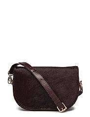Raf Curve Handbag Pony - WINE