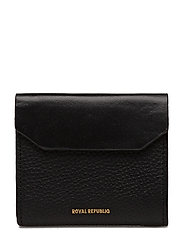 Alpha Zip Out Wallet - BLACK