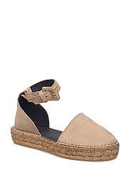 Wayfarer Sandal Suede - CAMEL