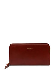 Galax travel wallet - Cognac