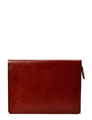 Galax laptop cover 13'' Hidden Zipper - COGNAC