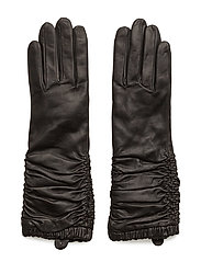WRINKLES GLOVE WOMEN TOUCH - BLACK