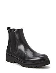 Ave Hiker Chelsea Boot Tweed - BLACK