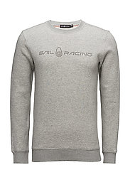 BOWMAN SWEATER - GREY MELANGE