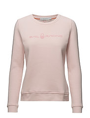 W GALE SWEATER - BRIGHT PINK