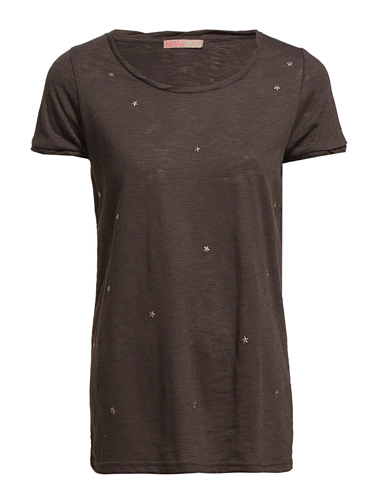 T-Shirt With Star Studs