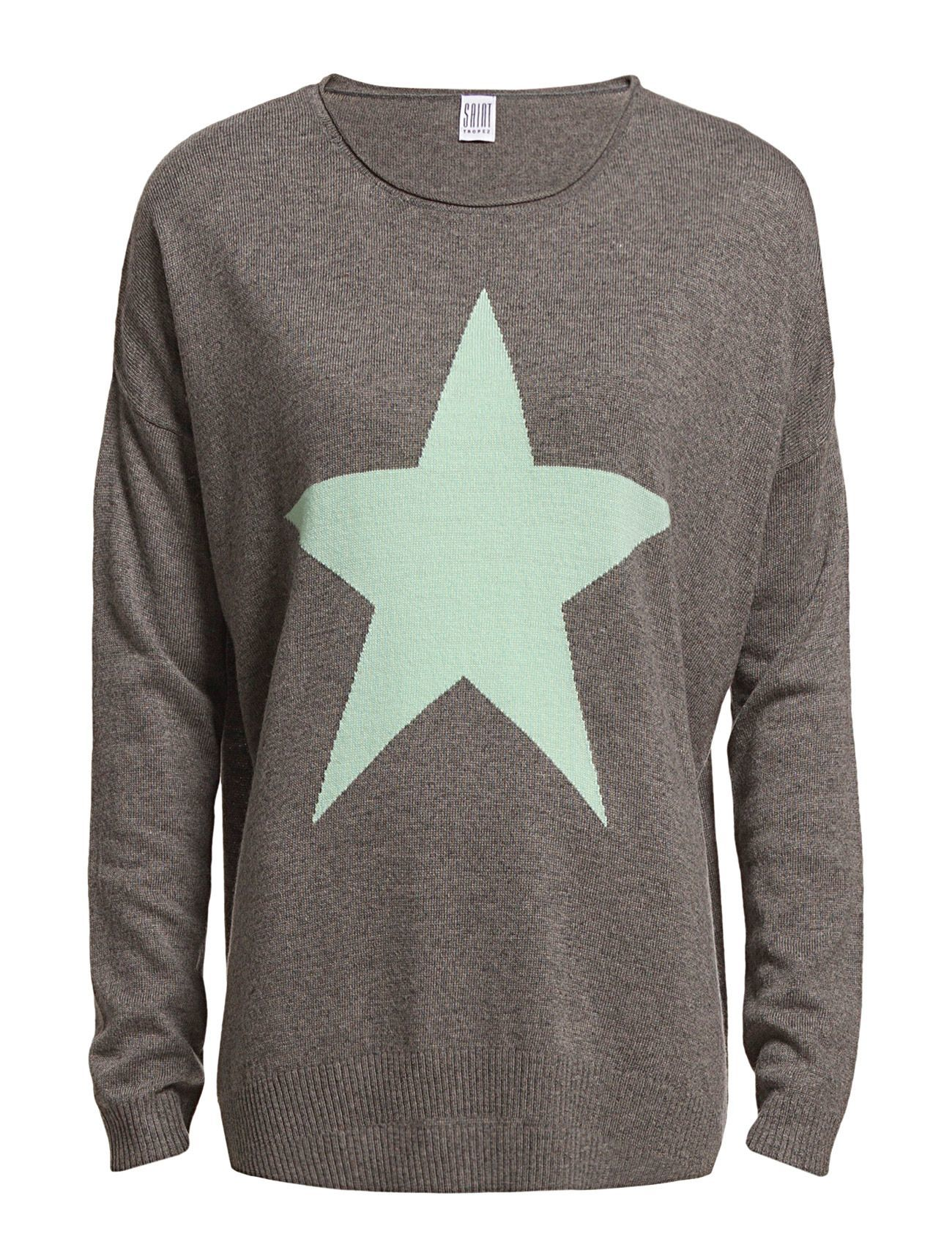 Knit With Contrast Star