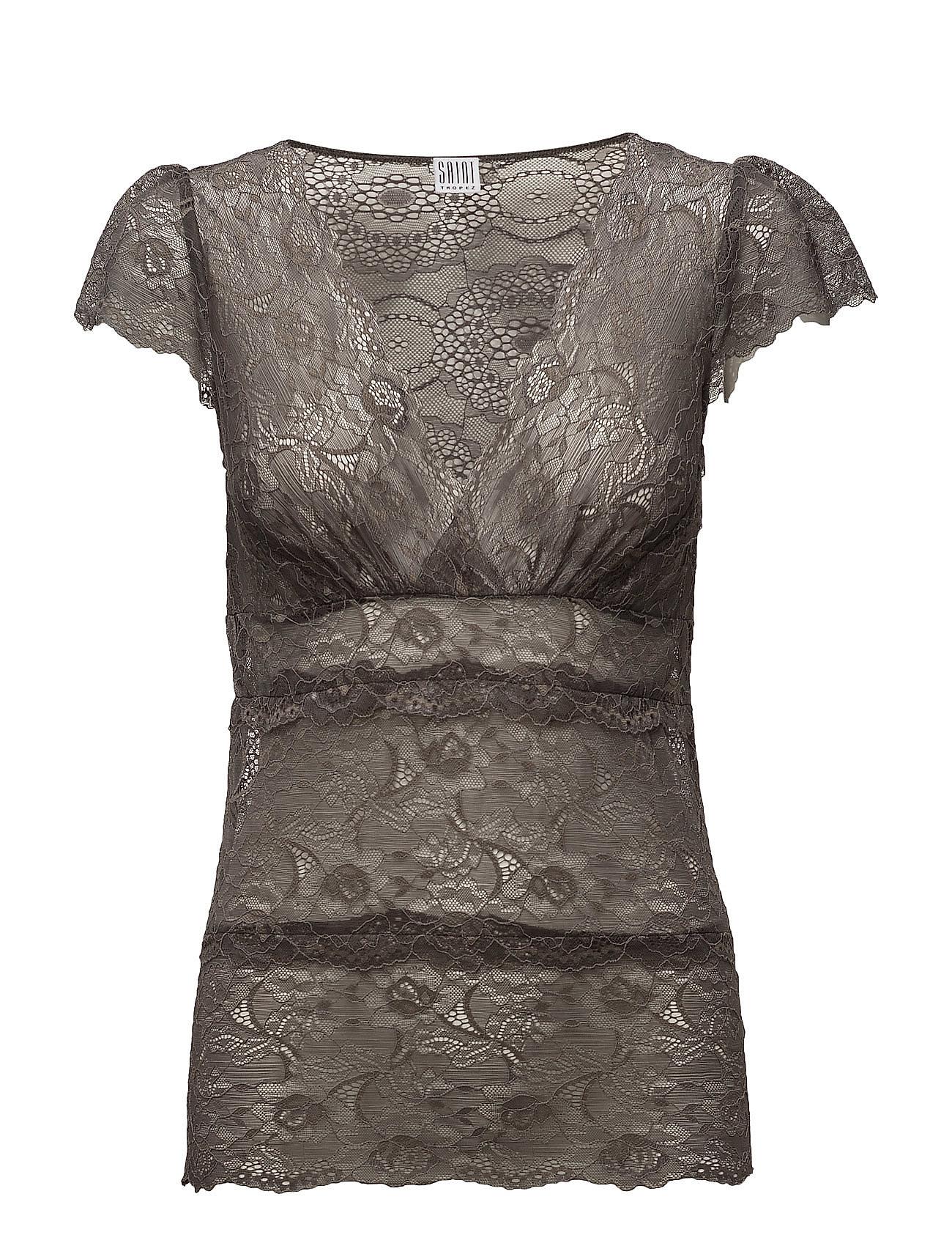 Lace Singlet Saint Tropez T-shirts & toppe til Kvinder i