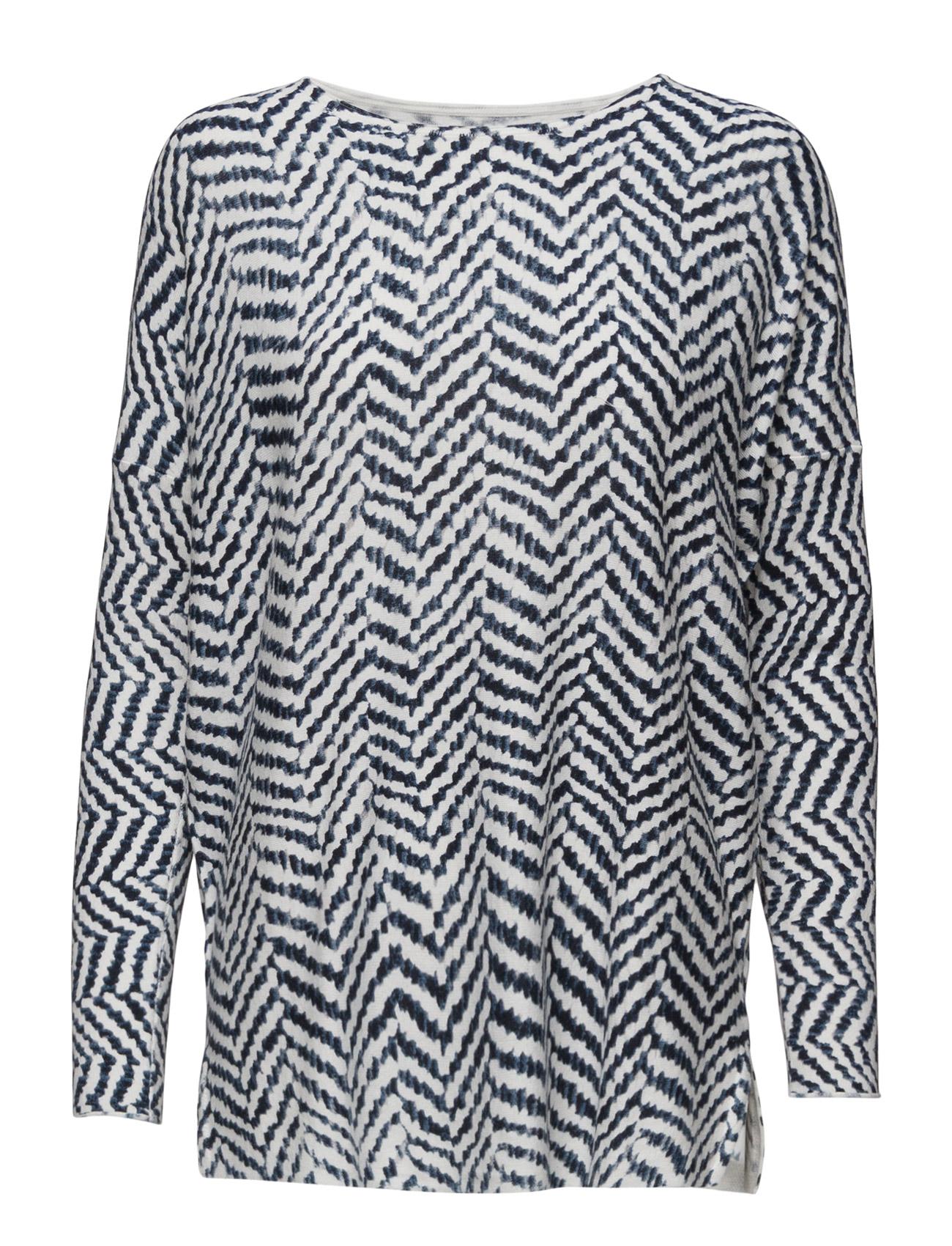 Printed Sweater Saint Tropez Langærmede til Kvinder i Is