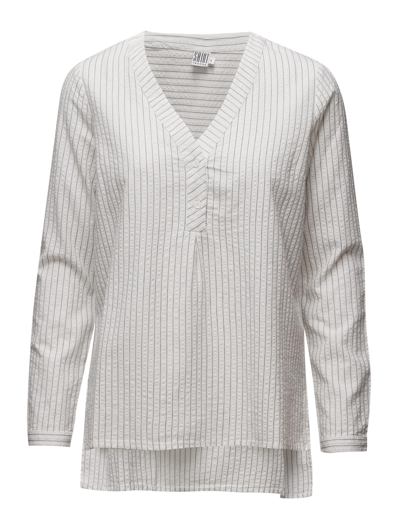 saint tropez – Shirt with stripes fra boozt.com dk