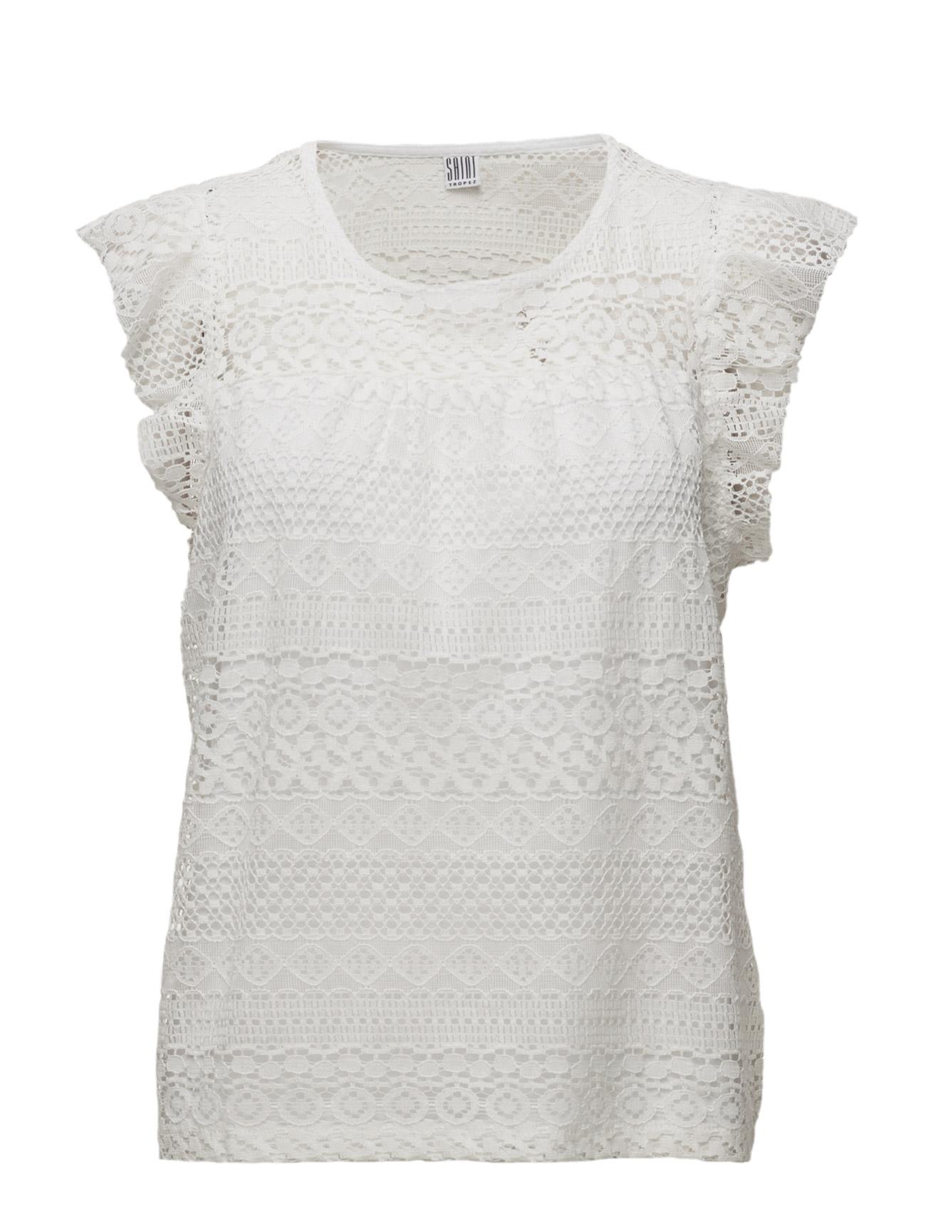 De tuffaste Lace T-Shirt Saint Tropez Kort-Hylsa till Kvinnor i fantastisk  kvalitet b23e5f2f30a7a