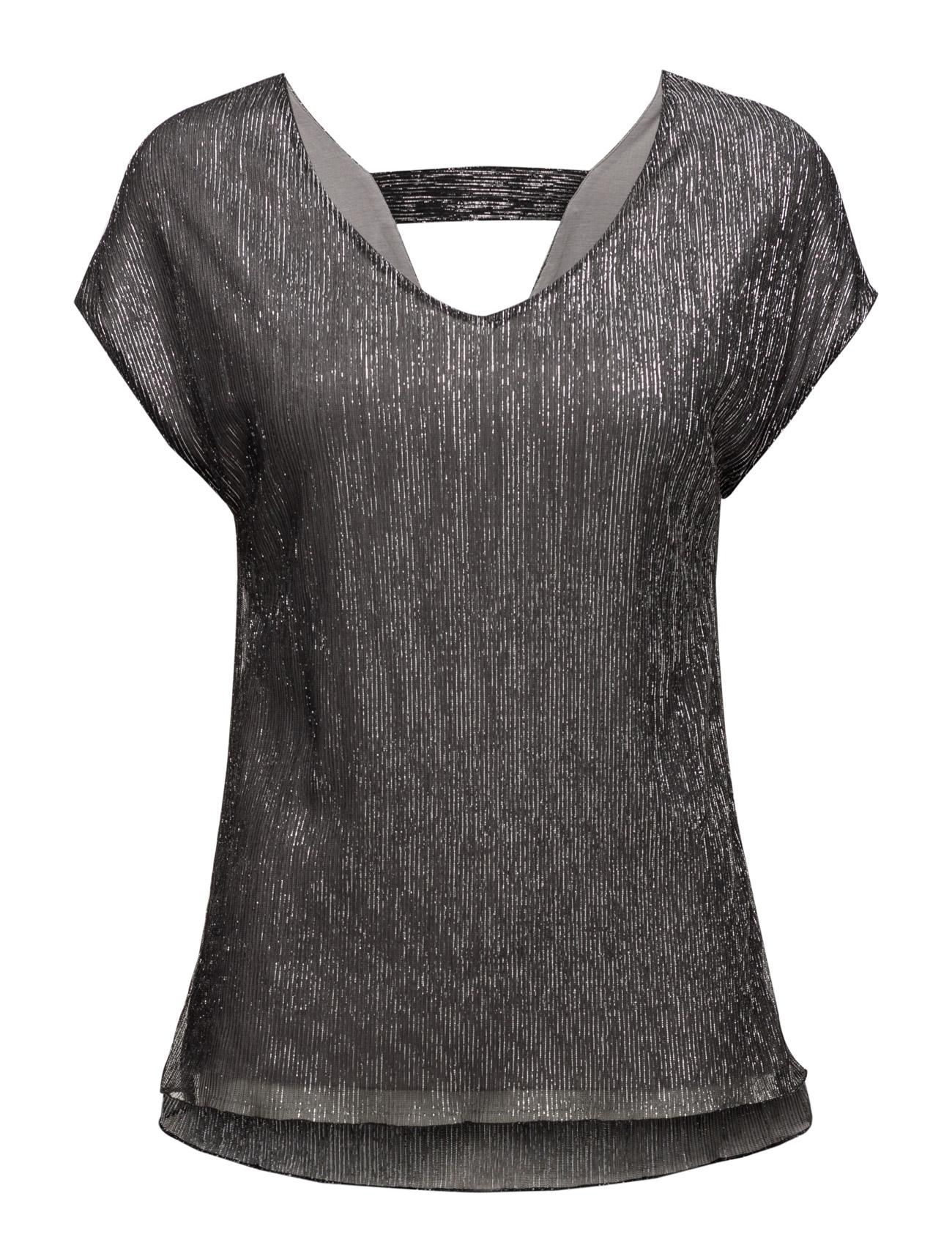 Pleated shimmer t-shirt fra saint tropez fra boozt.com dk
