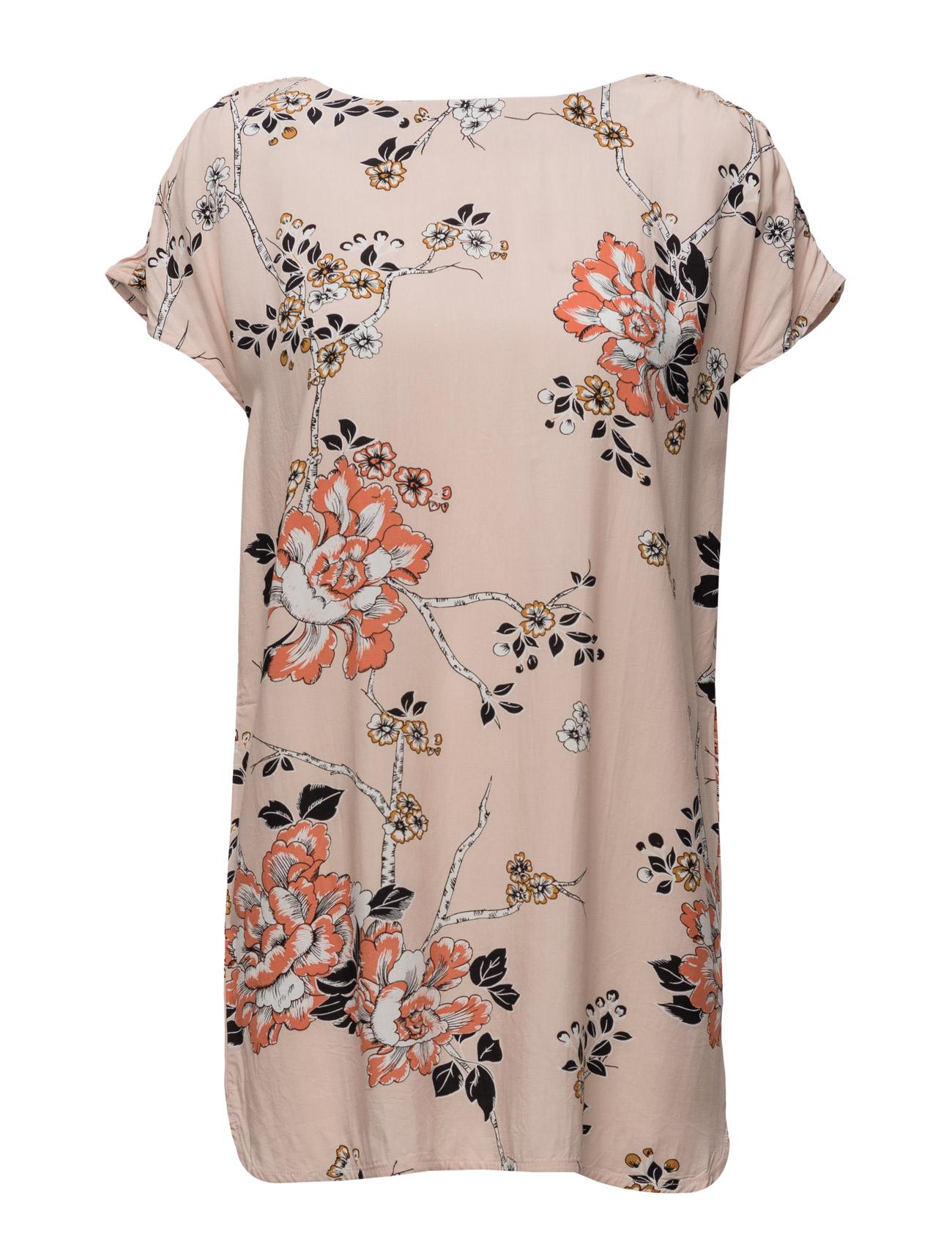 Flower Print Tunic Saint Tropez  til Damer i