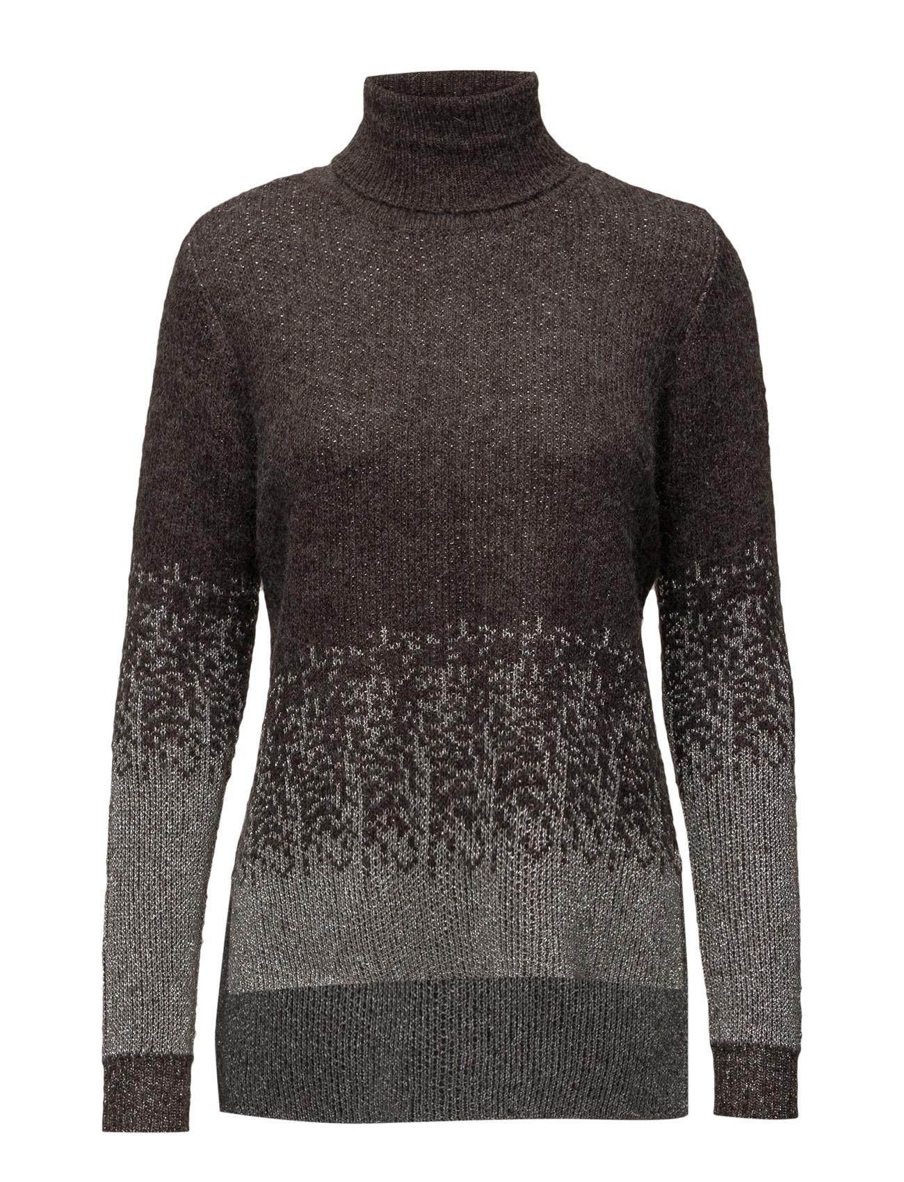 Roll-Neck Shimmer Sweater Saint Tropez Højhalsede til Kvinder i
