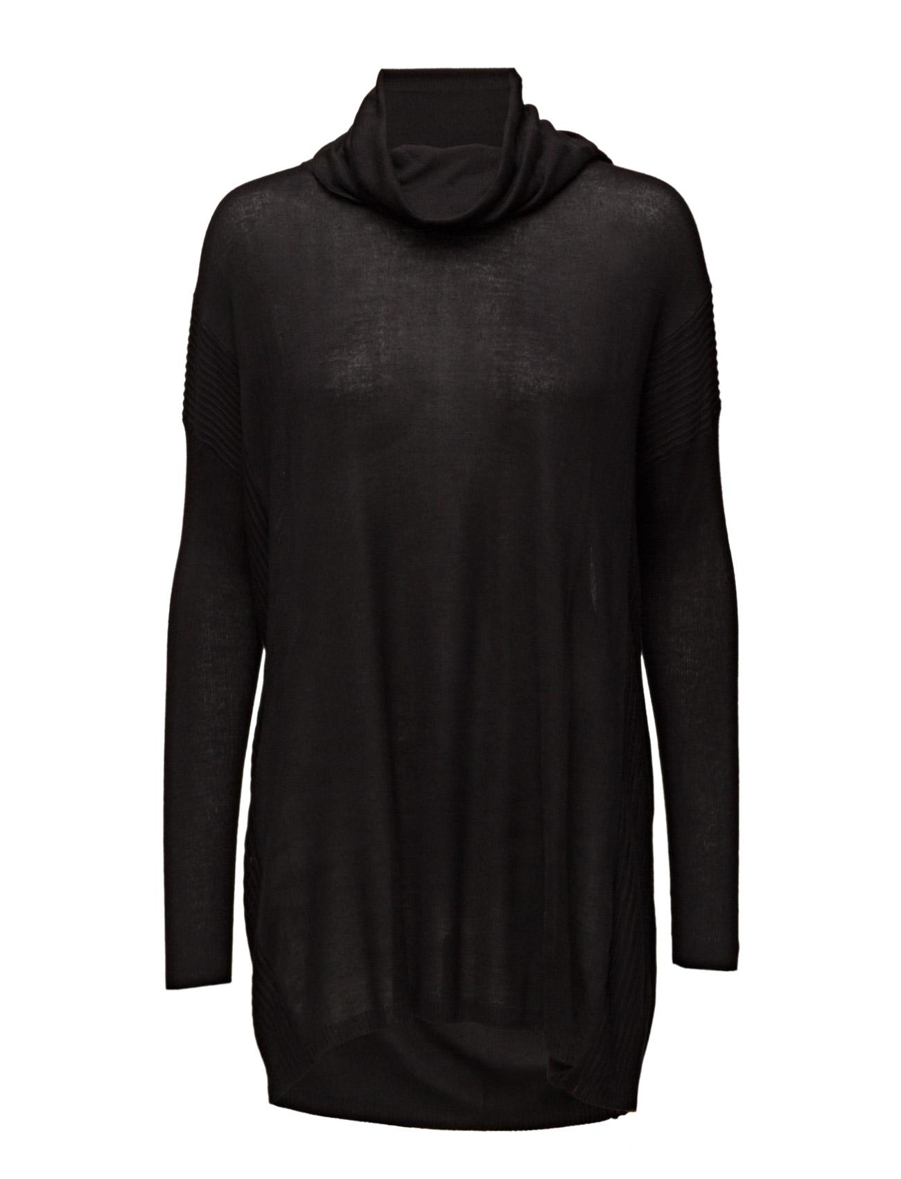 Oversize Sweater Saint Tropez Striktøj til Damer i Sort