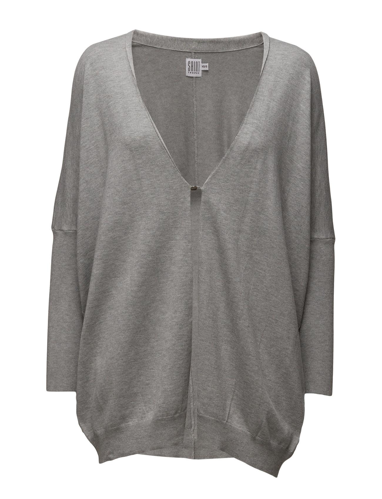 Oversize Cardigan Saint Tropez Cardigans til Kvinder i C.Grey M