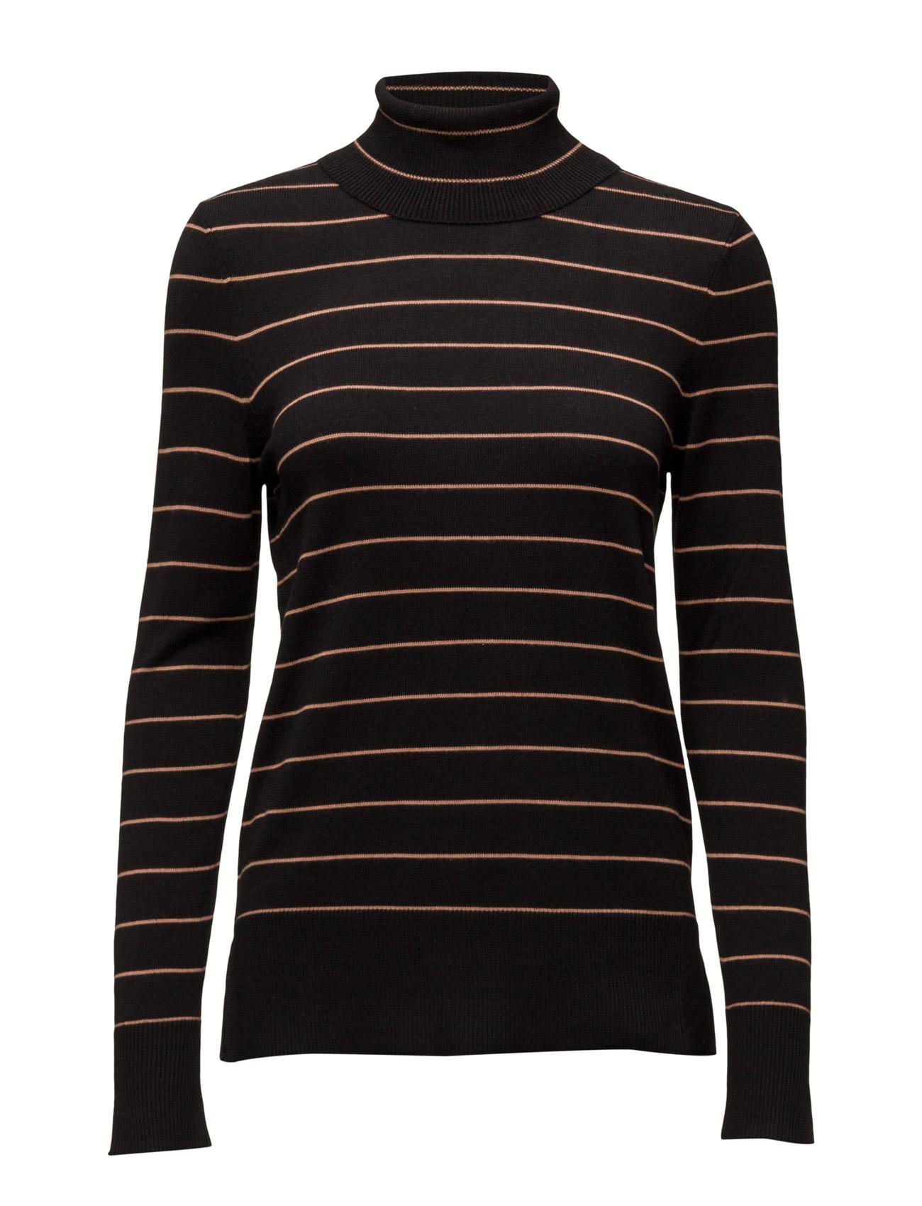 Knit Blouse With Stripes Saint Tropez Højhalsede til Kvinder i