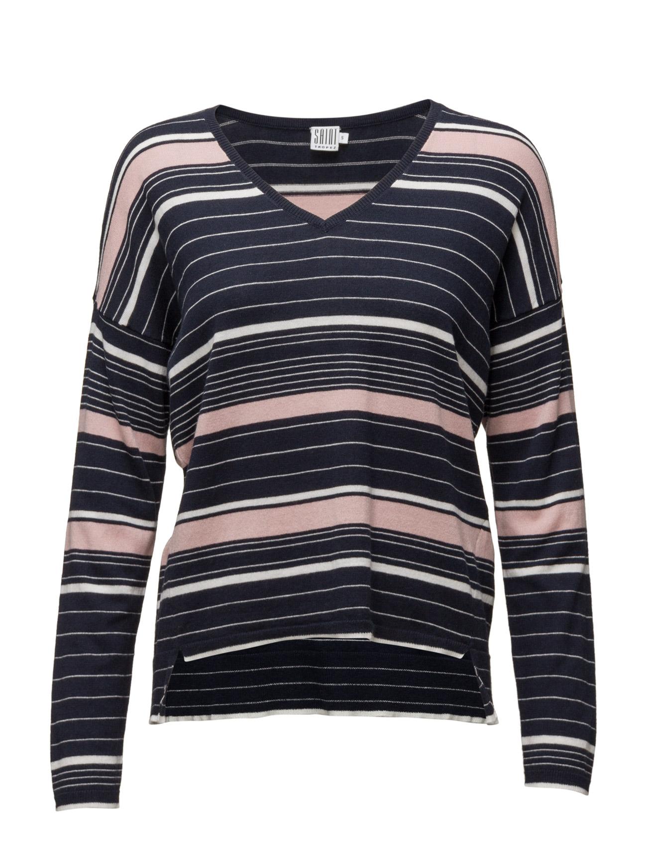 Striped Sweater Saint Tropez Sweatshirts til Damer i