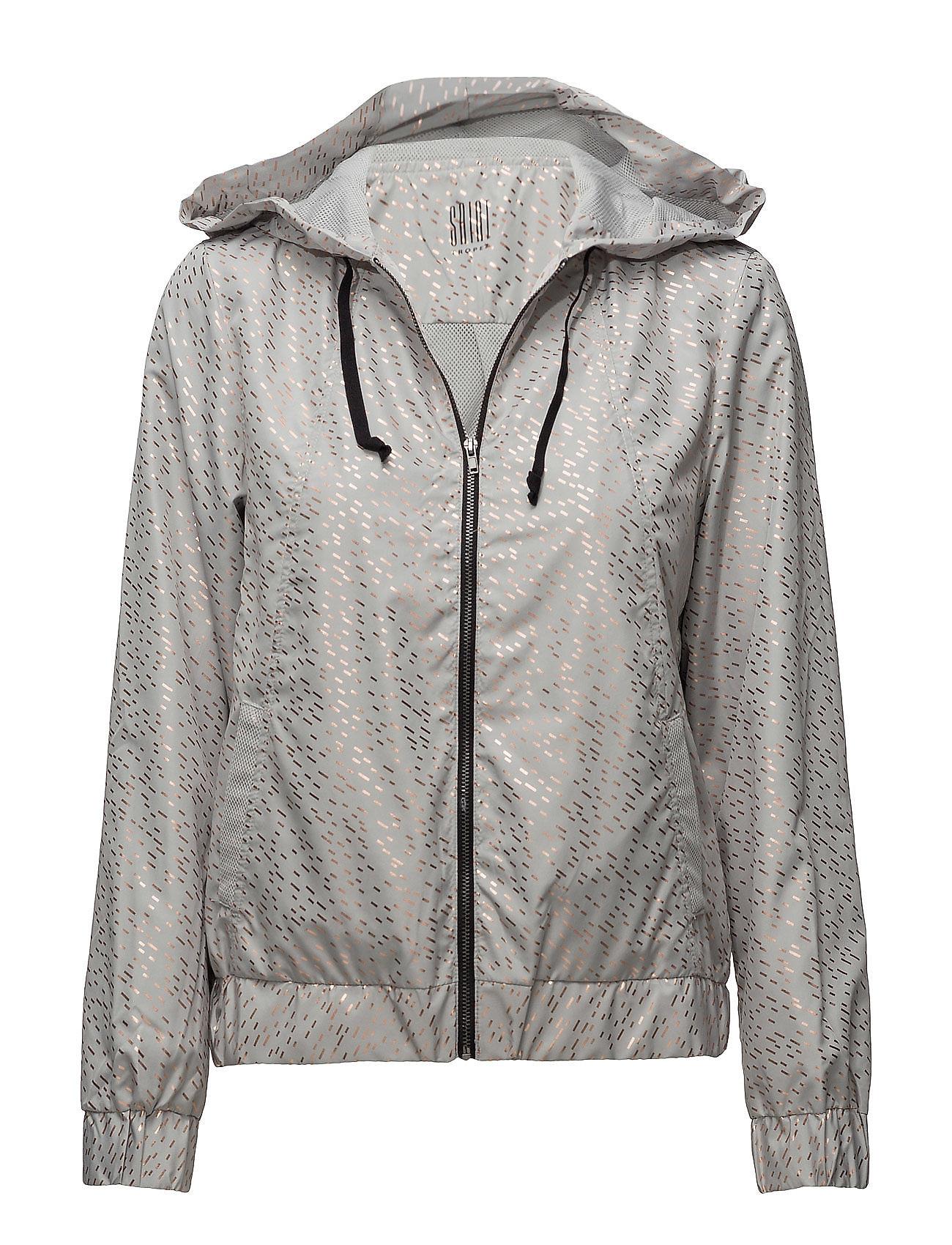 saint tropez – Printed sports jacket w hood fra boozt.com dk