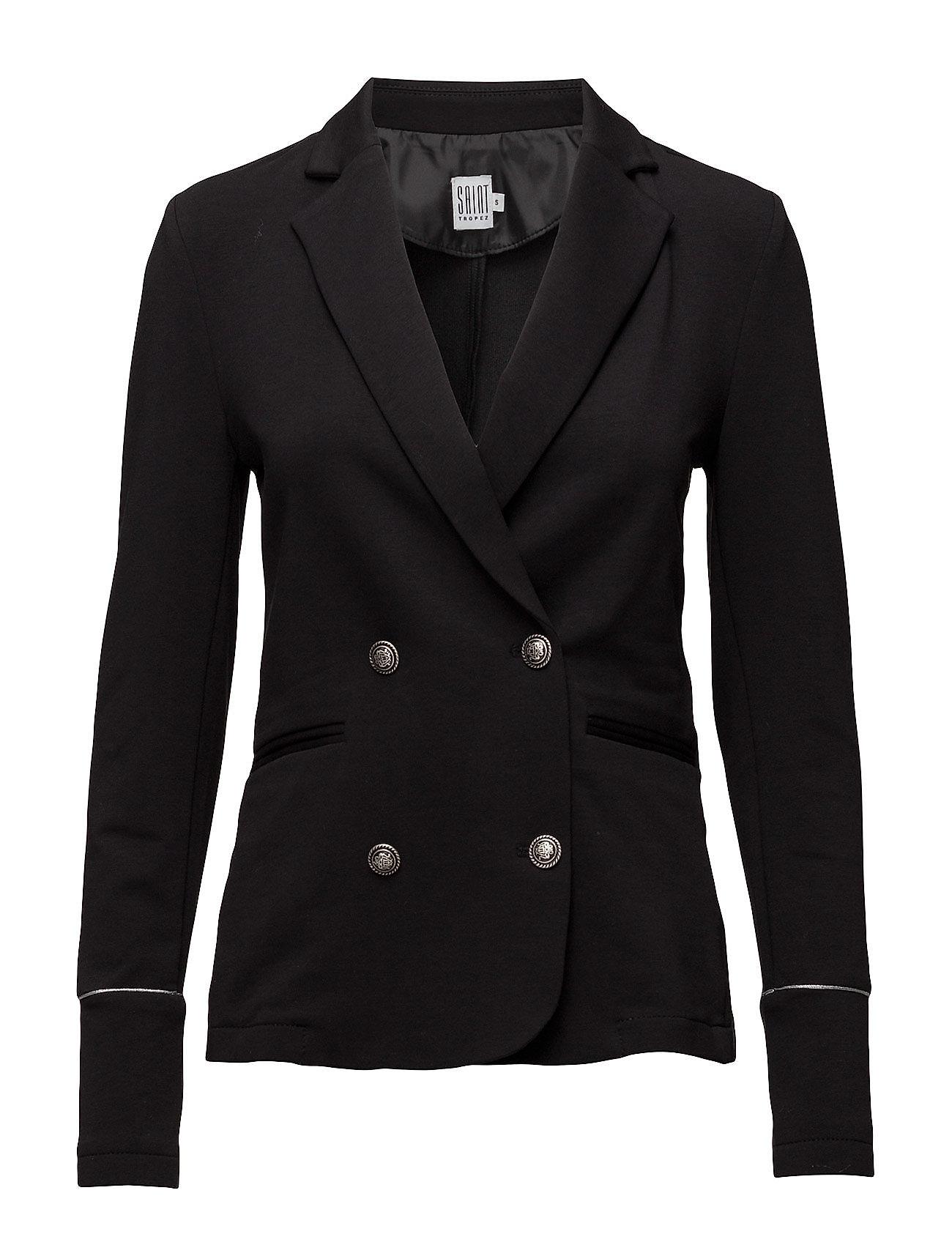Jacket With Military Buttons Saint Tropez Blazere til Damer i Sort