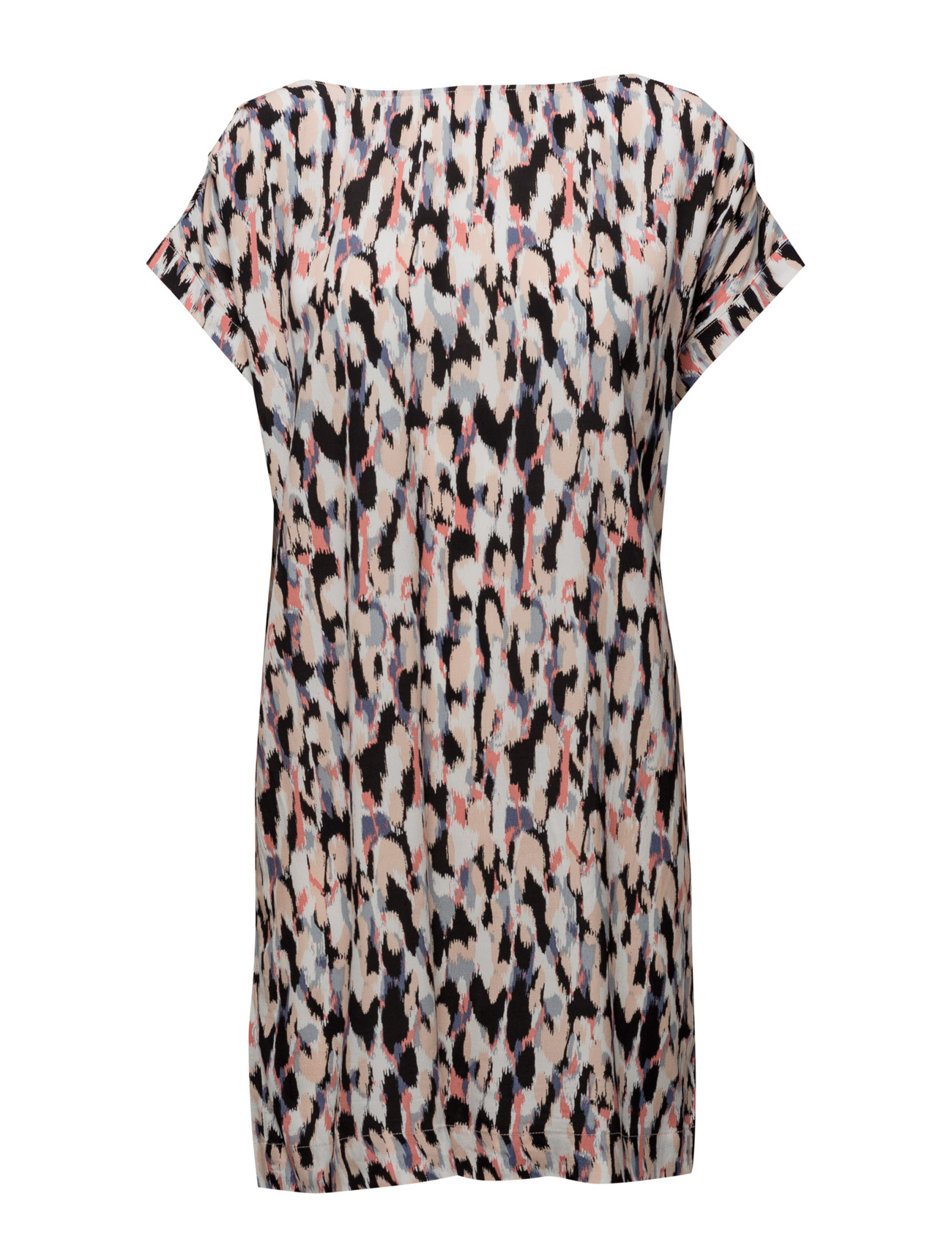 Animal Printed/ Solid Dress Saint Tropez Korte kjoler til Damer i