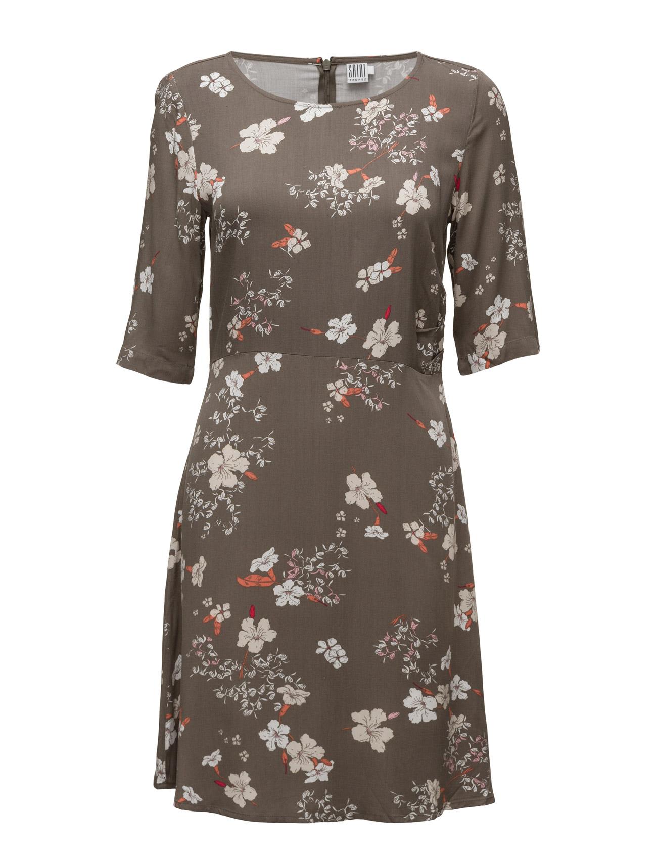 Flower Printed Woven Dress Saint Tropez Kjoler til Kvinder i