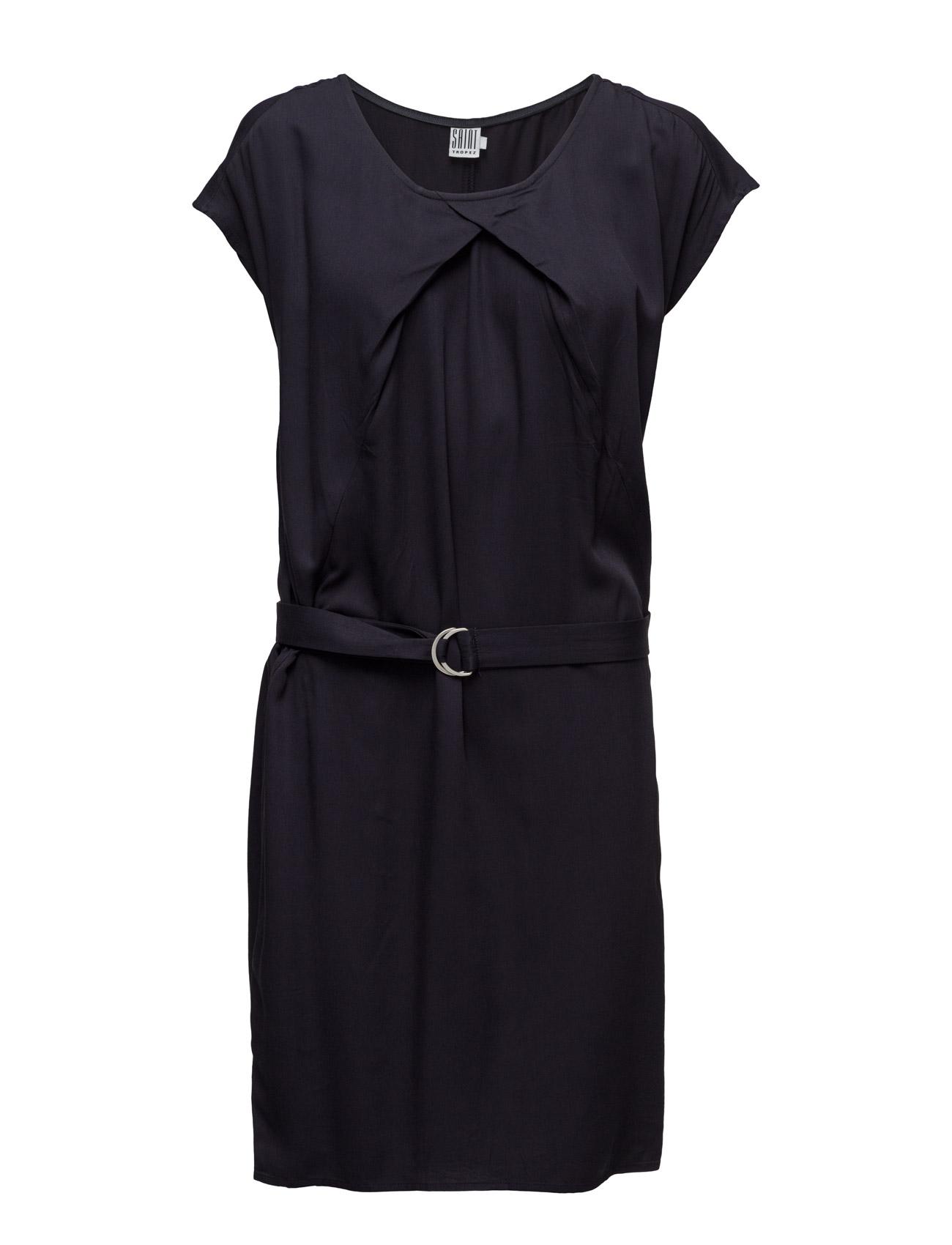 Dress With Belt Saint Tropez Kjoler til Kvinder i Bl Deep