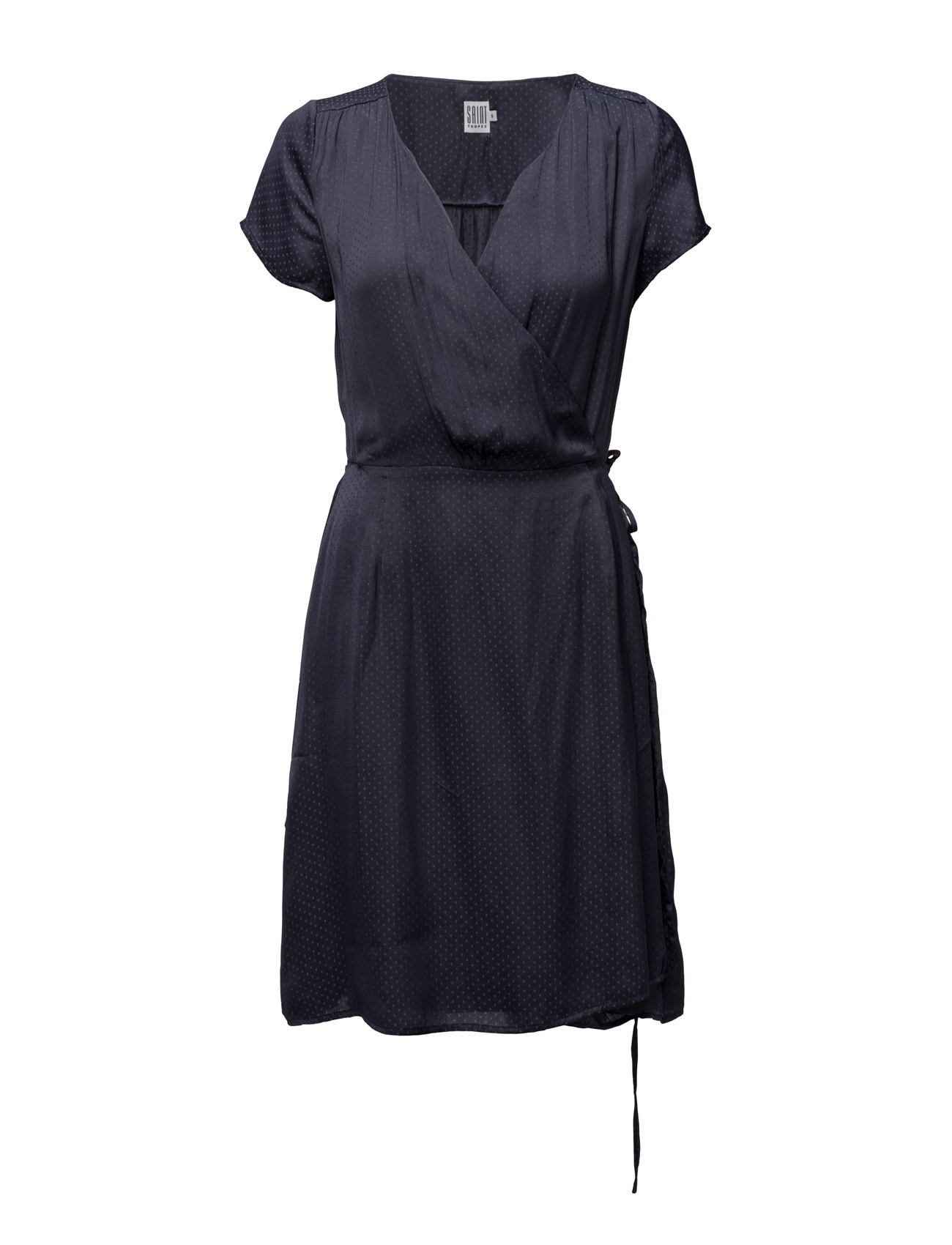 Wrap Dress Saint Tropez Knælange & mellemlange til Damer i Graphit