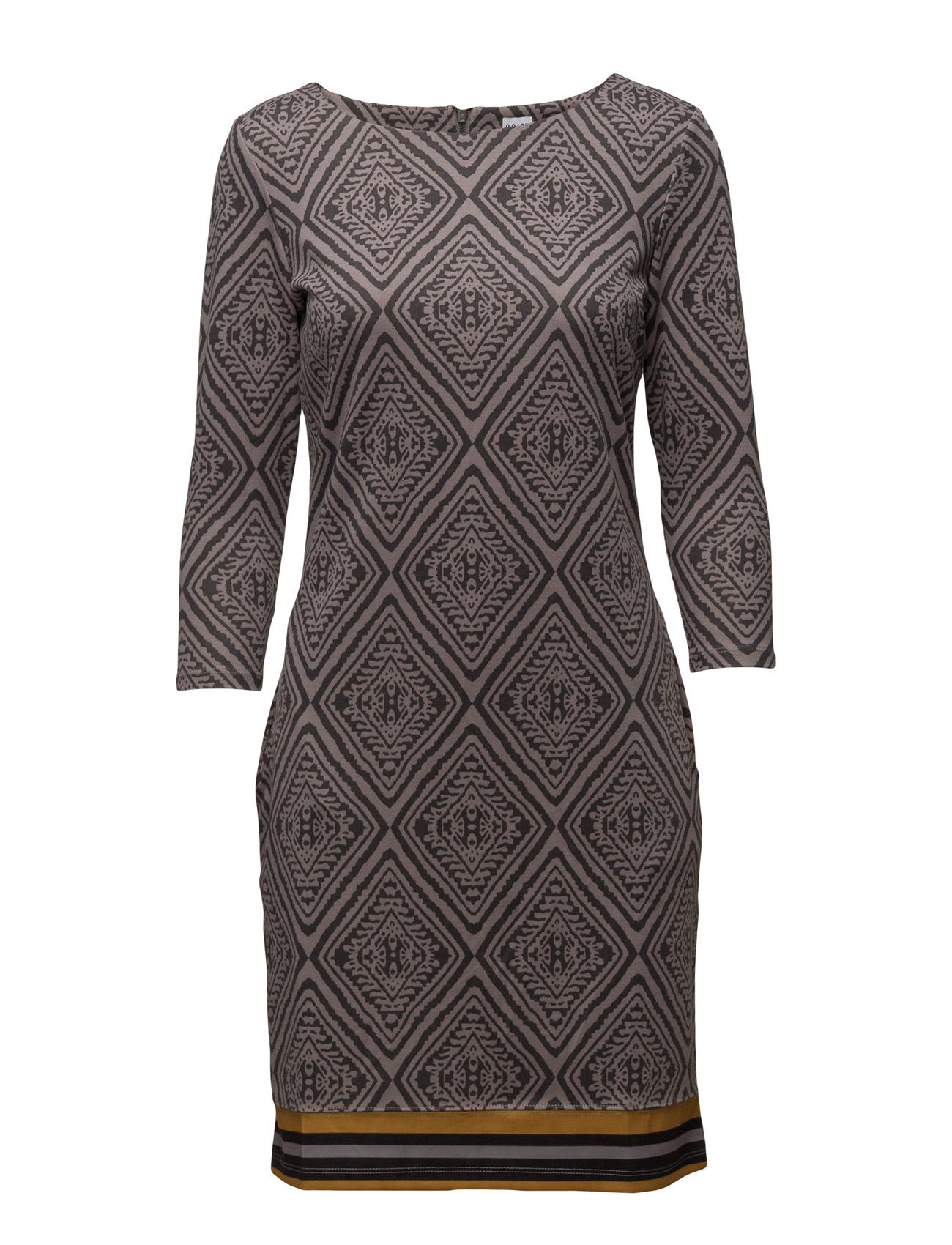 Jersey Dress W Print Saint Tropez Knælange & mellemlange til Kvinder i