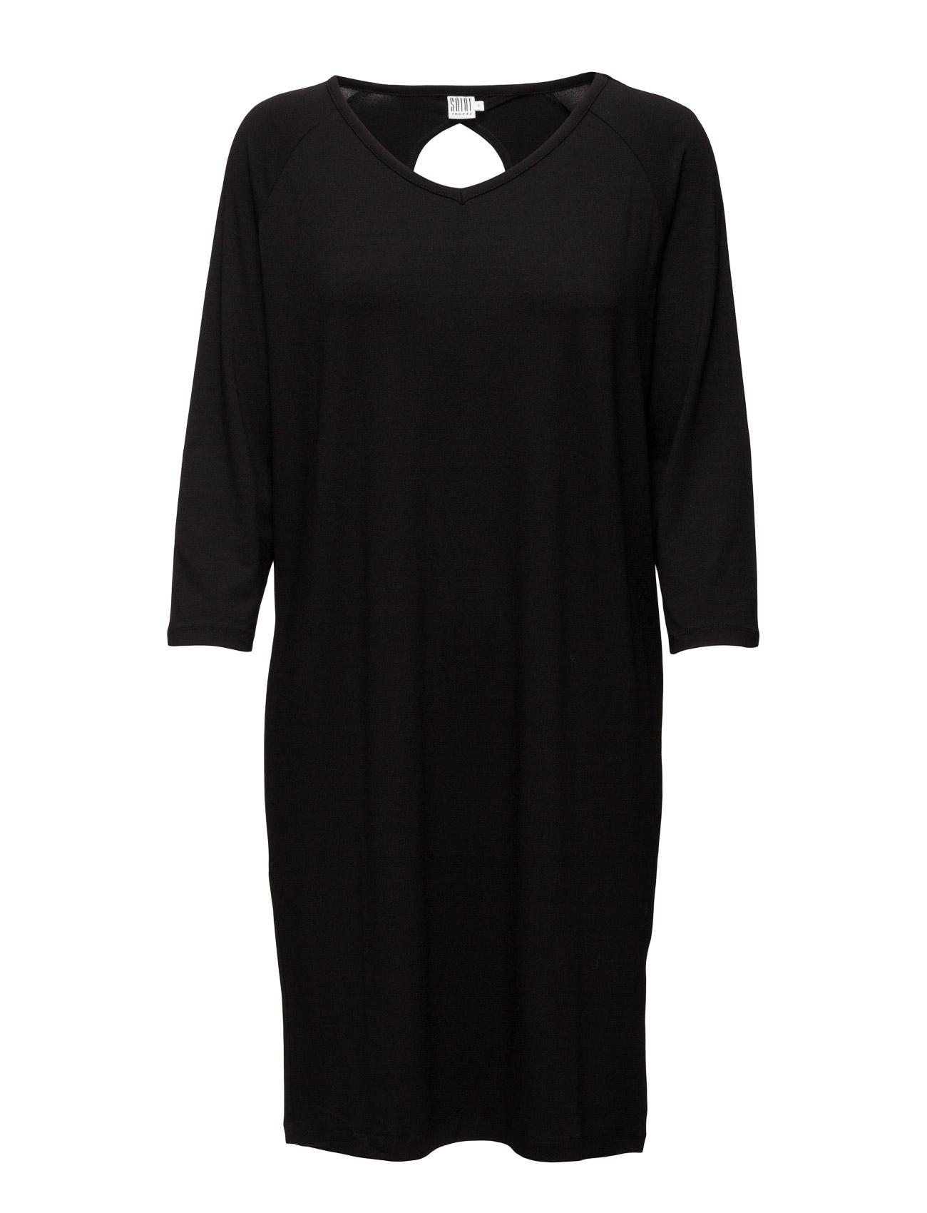 Dress With Neck Hole Detail Saint Tropez Korte kjoler til Damer i Sort