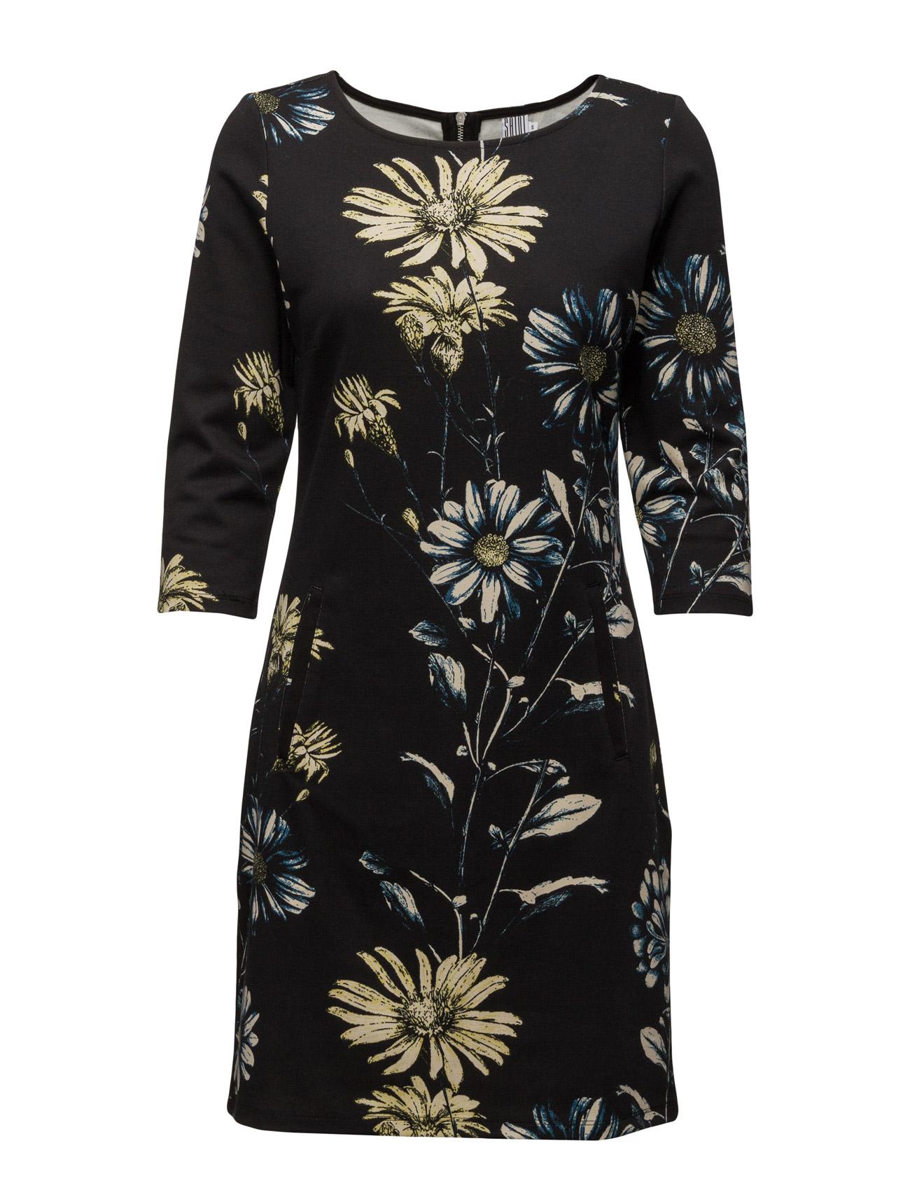 Daisy Print Jersey Dress Saint Tropez Knælange & mellemlange til Kvinder i Is