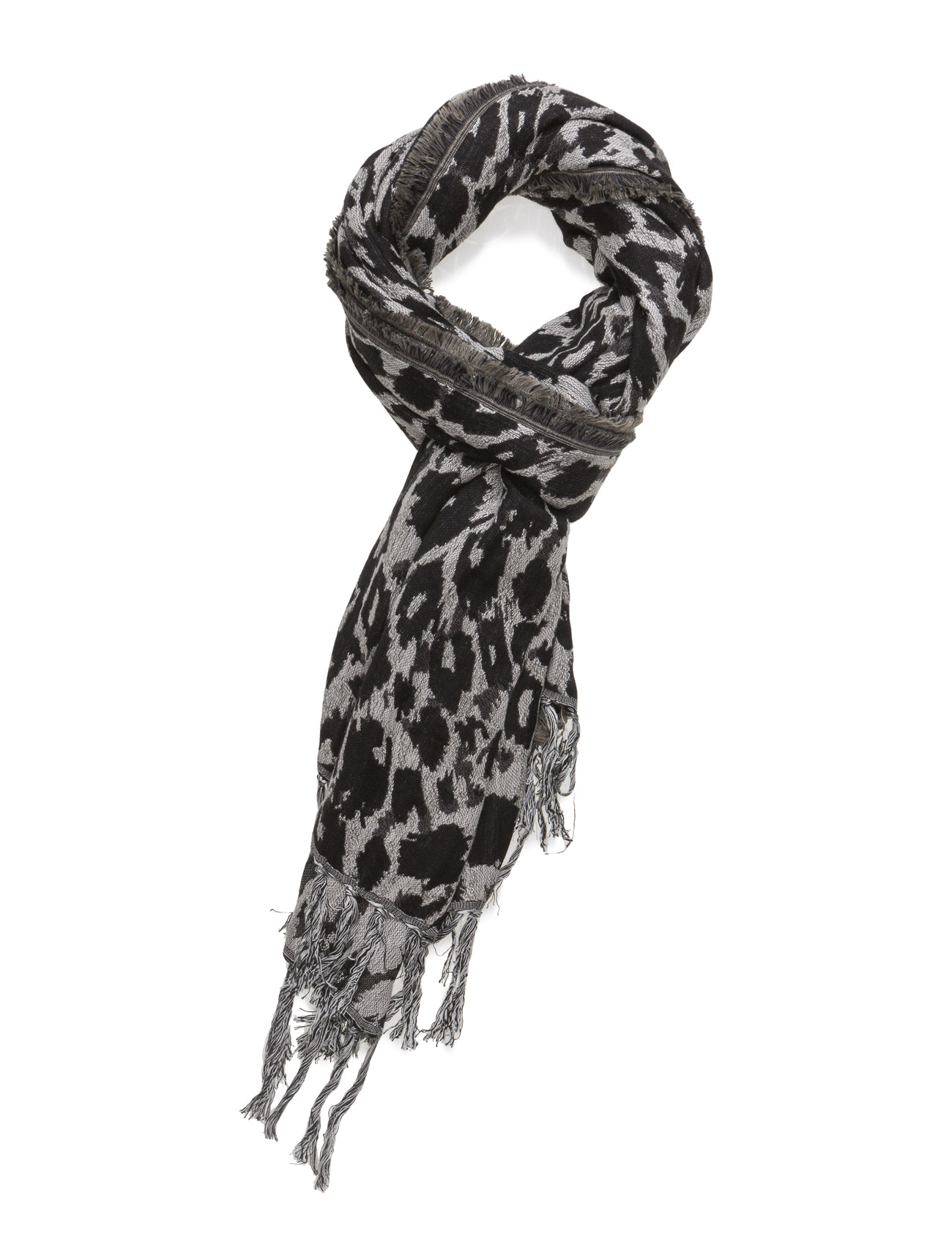 Animal Printed Scarf Saint Tropez Halstørklæder til Damer i