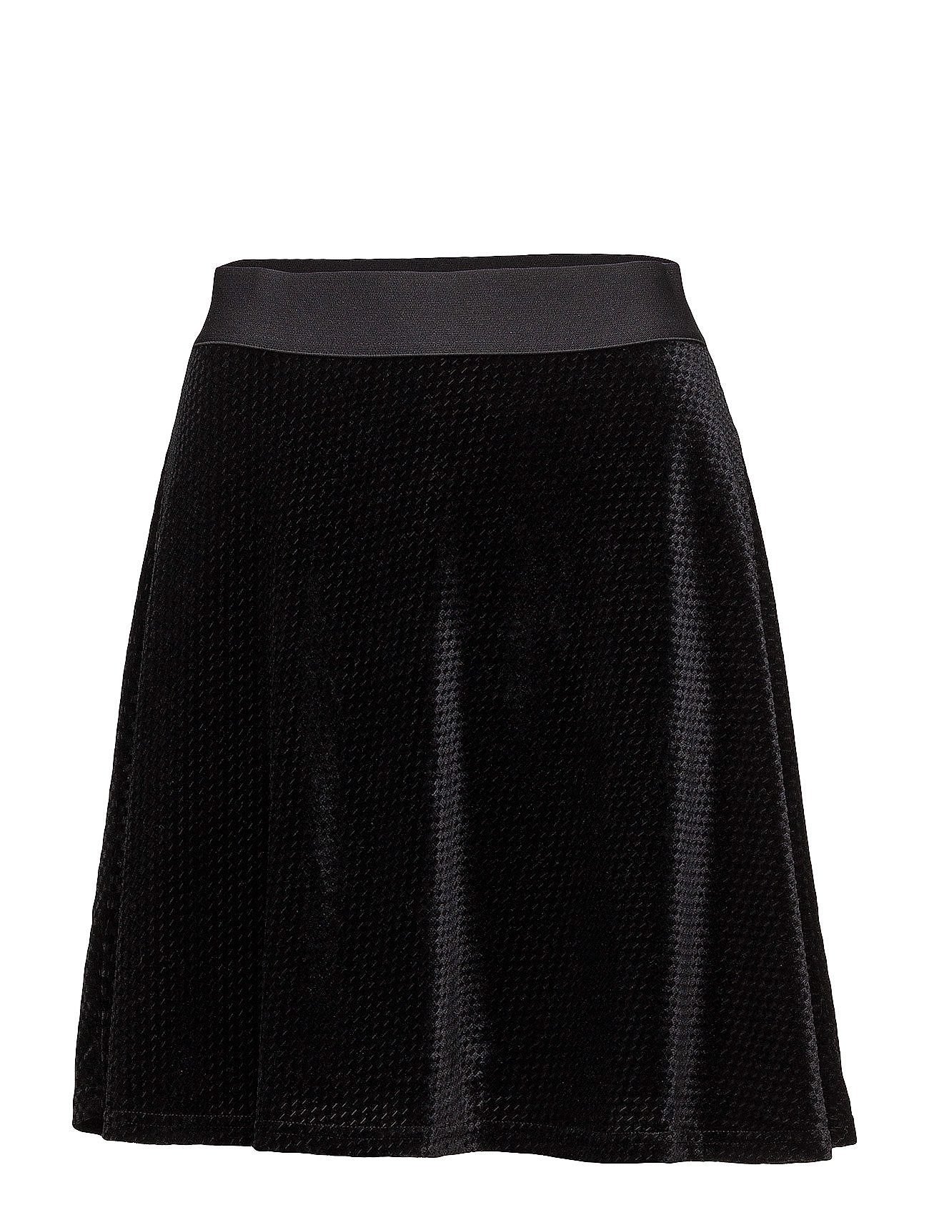 Image of Check Velvet Skater Skirt (2817572483)