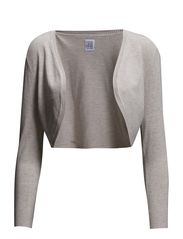 BOLERO W WRINKLE AT SLEEVES - Sand M.