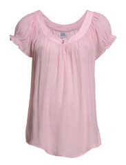 TOP WITH BUTTON - C.Pink