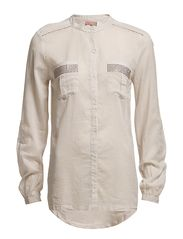 Saint Tropez SHIRT WITH STONES ON POCKET