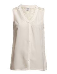 Saint Tropez TOP WITH LACE DETAILS