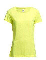 PLAIN NEON T-SHIRT - Neon Yellow
