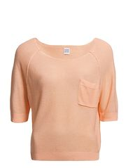 Saint Tropez CHEST POCKET BLOUSE